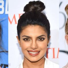 These stars get our vote for tip-top top knots.
