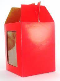Resultado de imagem para como fazer um caixinha de papel com visor transparente