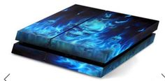 Skull Skin Sticker Cover For PS4 Playstation Console  2 Controller Vinyl Decal
