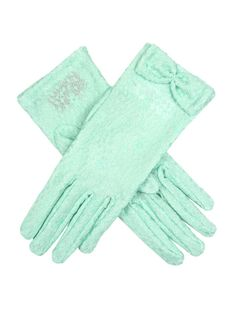 Mint women's pastel lace gloves with a lace bow detail. Composition: Nylon Lining: Unlined Button Length B/L – These gloves extend approximately inches above the wrist. Lace Gloves, Leather Gloves, Lace Bows, House Of Fraser, Occasion Wear, Pastel, Feminine, Velvet, Lady