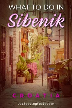 Sibenik, Croatia is an absolute gem! Discover the best things to do in Sibenik - from Old Town exploration to island hopping! Krka Waterfalls, Top Europe Destinations, Stuff To Do, Things To Do, Budget Travel, Us Travel, Travel Guides, Travel Tips, Croatia Travel
