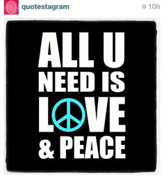 Peace, love, & harmony...#LiveLoveLearn