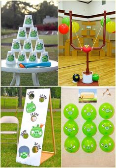 Angry Birds Party Game Ideas Angry Birds Birthday Party Game Online Angry Birds … Christmas – Grandcrafter – DIY Christmas Ideas ♥ Homes Decoration Ideas Angry Birds Party, Cumpleaños Angry Birds, Festa Angry Birds, Bird Party, Angry Birds Birthday Cake, Angry Angry, Diy Birthday Party Games, Girl Birthday Themes, Birthday Party For Teens