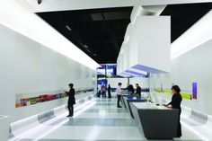 Official New York City Information Center   Architecture: WXY Architects; Interactive design: Local Projects; Photo: Albert Vecerka   Bustler