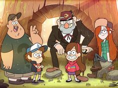Which character are you from Gravity Falls? Are you nerdy and curious like Dipper or laid back and clever like Wendy?