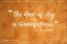 Want more joy today? Start your day making a list of 5 things you are grateful for.