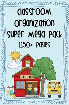 Classroom Organization Super Mega Pack – 76 files   This super mega pack is currently on sale with 50% OFF the usual price.        Here is a list of all the files in your pack:
