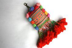 Vintage textile tassel.