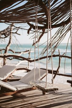 Hotel: Azulik Resort in Tulum, Mexico Beach Aesthetic, Travel Aesthetic, Beach Vibes, Beach Wallpaper, Surfer, Am Meer, Destin Beach, Dream Vacations, Aesthetic Pictures
