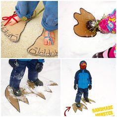 "«Задание 18 ""Следы на снегу"" для #кммадвент2016 с @mama.club @anya_timmy @nataliya29. Тег задания #кммадвент2016_день18. Не знаю, как у вас, а у нас за…»"
