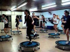 Jump Banespa, série de 17 minutos sem interrupção - intermediate/advanced 17 minute rebounder workout