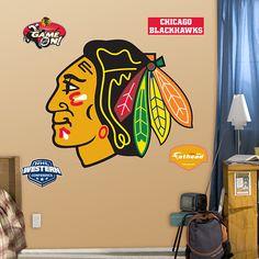 Chicago #Blackhawks house decorations