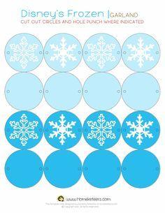 Frozen: Imprimibles y Tarjeter�a para Imprimir Gratis.