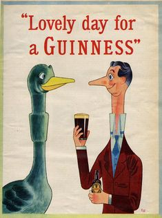 Guinness advertisement vintage
