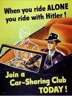 "This is the WWII propaganda poster I have to describe to people when they don't get my ""if you drink alone, you drink with Hitler"" line."
