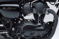 Special Black Edition W800 Kawasaki 2015