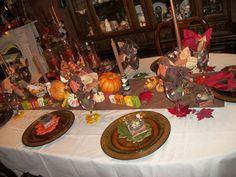 MAIN TABLE FOR THANKSGIVING