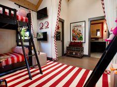 Amazing Kids Rooms - Gallery of Amazing Kids Bedrooms and Playrooms | Kids Room Ideas for Playroom, Bedroom, Bathroom | HGTV