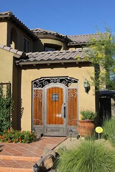 Inspirational Curb Appeal   First Impression Security Doors