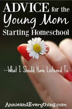 Are you thinking about starting homeschool in your family? Read this advice from an experienced homeschool mom.