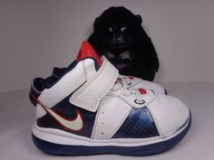 on sale d3966 072fd Nike Lebron James XIII 8 Toddlers Basketball shoes size 9 C 455239-100  Babies