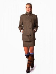 Dubarry of Ireland Tweed Found on Fashion For Linda