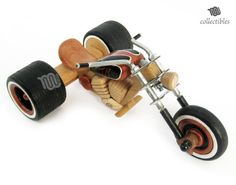 Wood Trike Chopper handmade replica collectible