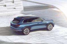 T-Prime Concept GTE: voorproefje nieuwe generatie Volkswagen Touareg