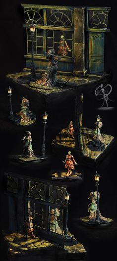 Awarded, Conversion, Diorama, Horrors, Malifaux, Monster, Neverborn, Object Source Lighting, Scene, Victorian, Wyrd
