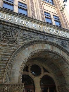 Wayne State University Old Main in Detroit, MI