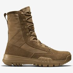 Nike SFB Field AR670-1 Compliant 8 inch Leather Boots - Coyote (688974-220) Right Side View
