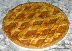 Crostata alla marmellata di arance con pasta frolla all' olio extravergine d' oliva