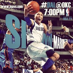 Game Day...are you ready? Mavs vs Thunder tonight at 7PM CST on FSSW & NBA TV.