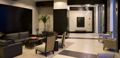 apartment building lobby design - Google Search