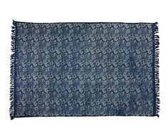 Alfombra de yute y algodón Bidani - 160x230 cm