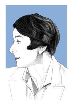 Eileen Gray - 1878-1976 #classicdesignitalia #igrandimaestri Eileen Gray, Irish Design, Grey Art, Powerful Women, Art Deco, Design History, Space Age, Bauhaus, Gatsby
