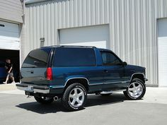 1994 Chevy Blazer 2-Door 4x4 | Blue/Green w/ Gray Leather In… | Flickr