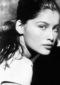 Laetitia Casta #goachi #eyes in Black and white