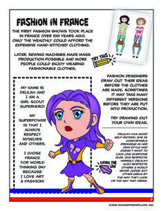 This fifteen-page download is packed with 13 different activities to teach your girls all about France for your Girl Scout World Thinking Day or International celebration. Pick the ones that are right for your group or do them all! Exclusively available at MakingFriends.com