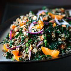 Apricot, Kale, and Quinoa Salad