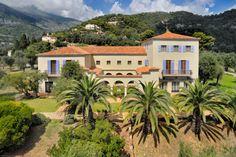 La Pausa, Coco Chanel's villa in Roquebrun where she invited Salvador Dali in 1938