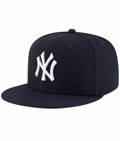 a4d2aa87f96eb Vintage 90 s New York Yankees MLB Baseball Adjustable Snapback Black  Sportswear Cap Hat With Big Logo