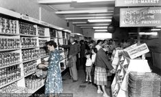 Poole, Rockley Park Supermarket, Rockley Sands c.1960. Read our nostalgic photo feature from The Francis Frith Collection with nostalgic photos of early supermarkets of the past. Did you know you can browse the archive online today for free? Your nostalgic journey has begun... #francisfrith #photography #archives #frithphotos #historicbritain #thefrancisfrithcollection