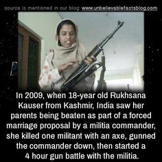 unbelievable-facts:  In 2009, when 18-year old Rukhsana Kausar... - http://didyouknow.abafu.net/facts/unbelievable-factsin-2009-when-18-year-old-rukhsana-kausar