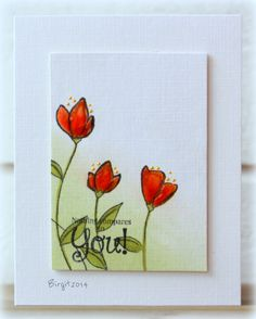 CAS264 Nothing compares to You by Biggan - Cards and Paper Crafts at Splitcoaststampers