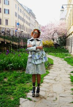 The wardrobe of Ms. B: Pre Spring vibes in Milan