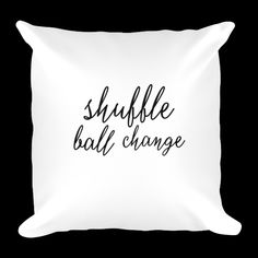 dancelove pillows will complete any dancer's home. Home Collections, Bed Pillows, Pillow Cases, Dancer, Pillows, Dancers