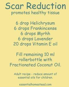 Oils for Skin Imperfections diy scar reduction salve - (Scheduled via )diy scar reduction salve - (Scheduled via ) Helichrysum Essential Oil, Essential Oils For Skin, Young Living Essential Oils, Essential Oil Blends, Scar Reduction, Oils For Scars, Roller Bottle Recipes, Healthy Oils, Living Oils