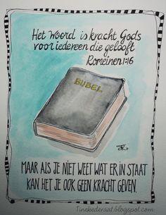 Deze illustratie is gemaakt als uitnodiging voor bijbelstudie.