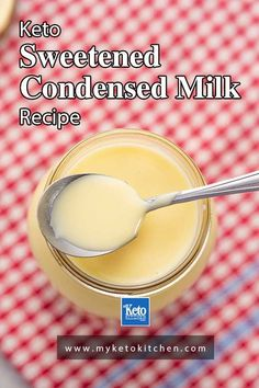 Sweetened condensed milk is an essential ingredient for many dessert recipes. But keto is sugar free so we created a healthy version with natural sweeteners that is low carb and great for many recipes! #sugarfree #ketorecipe #easyrecipe Low Carb Recipes, Diet Recipes, Dessert Recipes, Healthy Desserts, Trim Healthy Mama Plan, Condensed Milk Recipes, Mama Recipe, Latest Recipe, Other Recipes